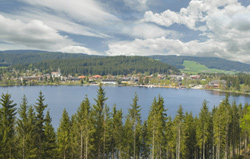 Titisee in the Black Forest.