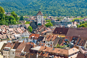 The German city of Freiburg is a centre for medical education and research.