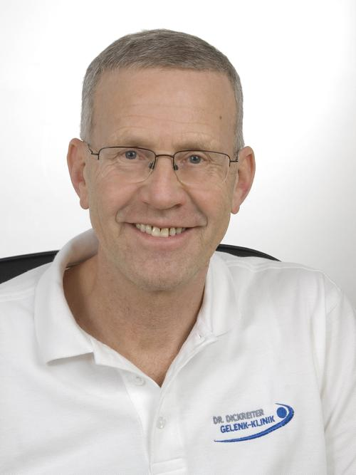 Expert Consultant for Rehabilitation and Physical Therapy Dr. med. Bernhard Dickreiter