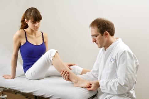 Medical examination for Morton's neuroma
