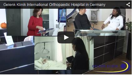 Video orthopaedic Clinic in Germany