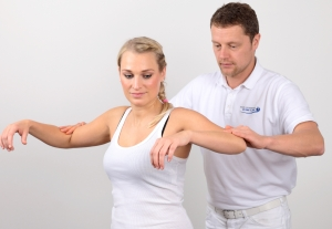 Clinical Examination of shoulder function by a shoulder specialist