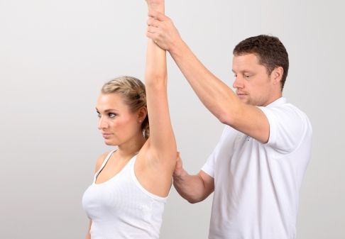 After any kind of shoulder surgery, it is important to regain the normal range of motion