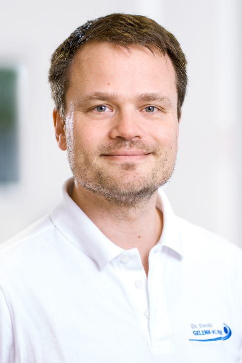 Доктор медицинских наук Кристоф Эвальд, врач ортопед-травматолог